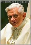 Pope Benedict XVI (Ratzinger) on Angels Do Speak!