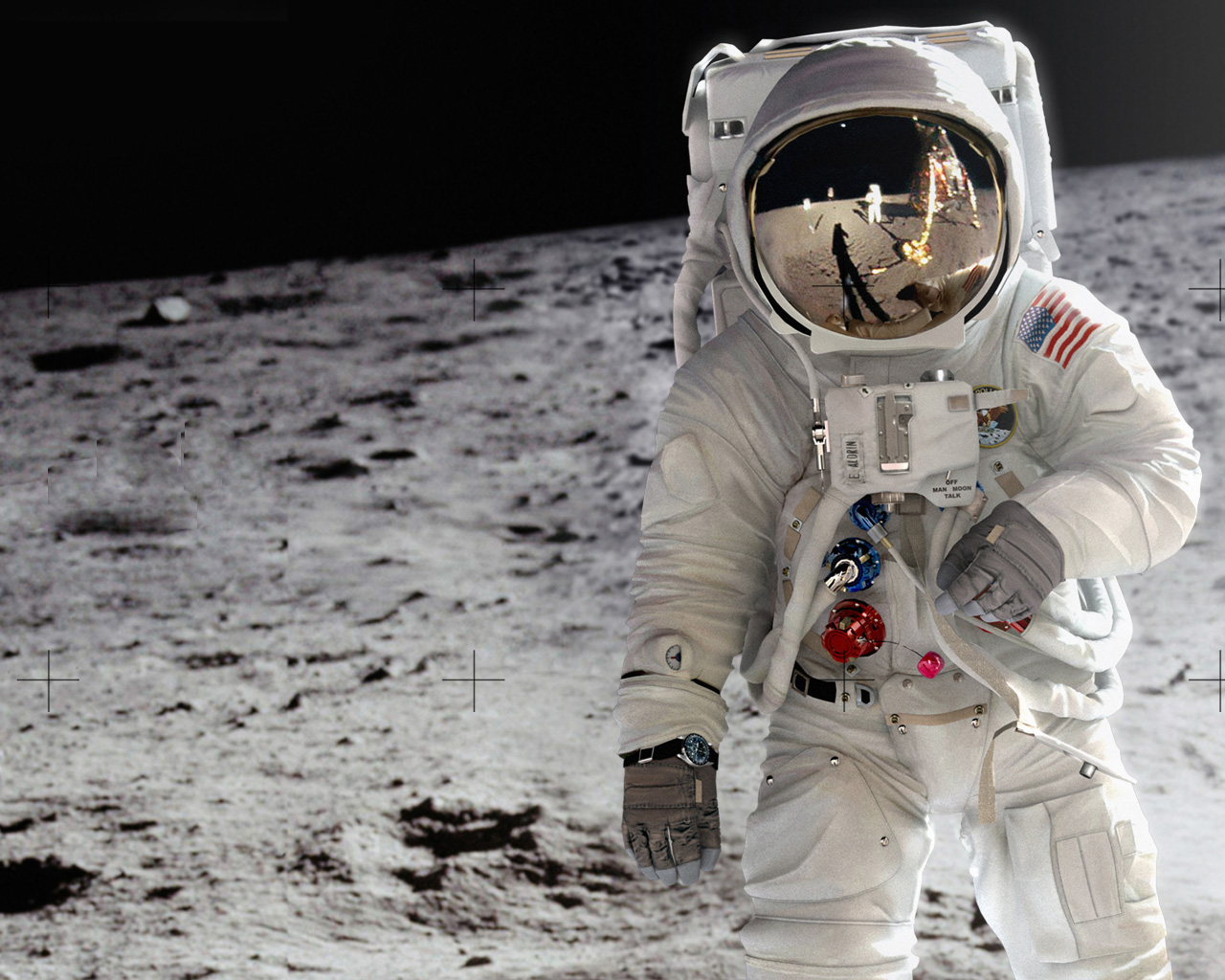 astronauts who walked on moon - photo #24