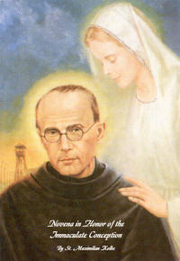 Maximilian Kolbe Immaculate on Angels Do Speak!®